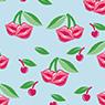Patrón gráfico champú en seco Batiste cherry
