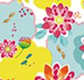 Patrón gráfico champú en seco Batiste floral
